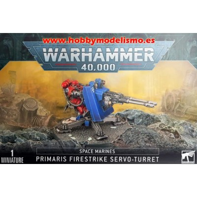 SERVOTORRETA FIRESTRIKE PRIMARIS MARINES ESPACIALES - GAMES WORKSHOP 48-52