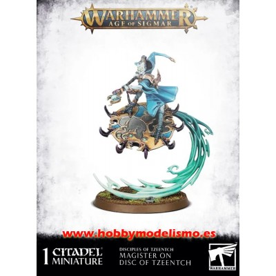 MAGISTER ON DISC OF TZEENTCH - GAMES WORKSHOP 97-39