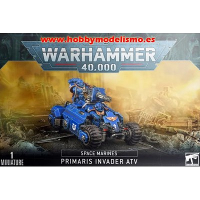 QUAD INVADER PRIMARIS MARINES ESPECIALES - GAMES WORKSHOP 48-50
