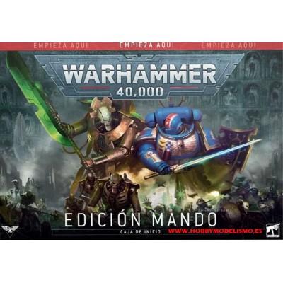 WARHAMMER 40000 MANDO (EN ESPAÑOL) GAMES WORKSHOP 40-05