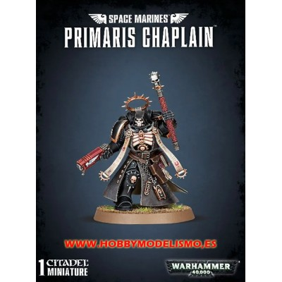 SPACE MARINES PRIMARIUS CHAPLAIN - Games Workshop 4862