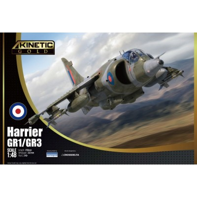 HAWKER SIDDELEY HARRIER Gr.1 / Gr.3 -Escala 1/48- Kinetic K48060
