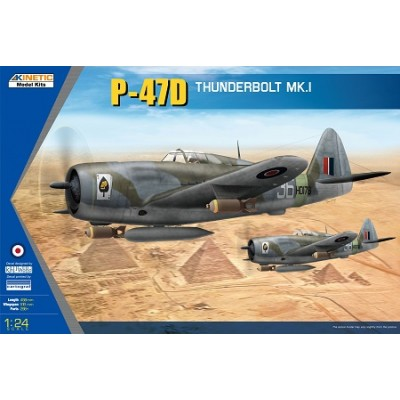 REPUBLIC P-47 D THUNDERBOLT MK-I -Escala 1/32- Kinetic K3212