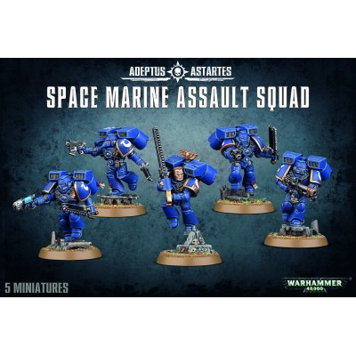 SPACE MARINES ESCUADRA ASALTO