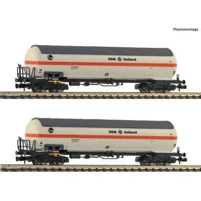 "SET VAGON CISTERNA GAS NS ""DSM HOLLAND"" Epoca V -Escala N / 1/160- Fleischmann 849101"