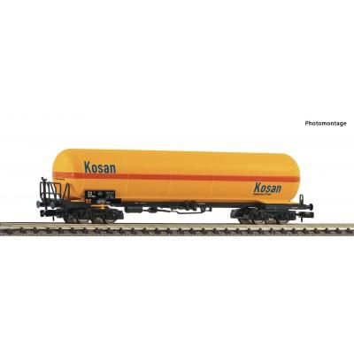 "VAGON CISTERNA GAS DSB ""KOSAN"" Epoca IV -Escala N / 1/160- Fleischmann 849106"