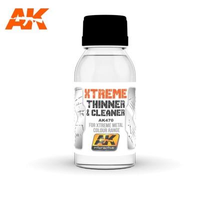 XTREME CLEANER - THINNER 100ml - AK 470