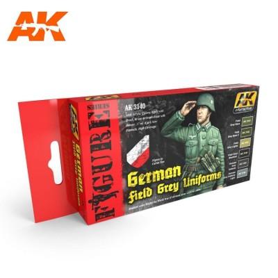 FIGURE series: WW II GERMAN UNIFORM COLORS - AK 3140