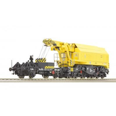 Grúa ferroviaria giratoria para operaciones digitales, DB ROCO 73035