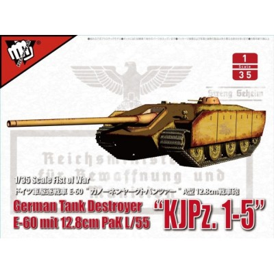 CAZACARROS E-60 (128 mm PAK-44 L/55) - Escala 1/35- Modelcollect UA35018