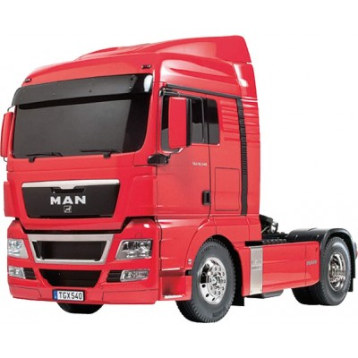 KIT CAMION RC MAN TGX ESCALA 1/14 RED Pré painted EDITION - TAMIYA 56332