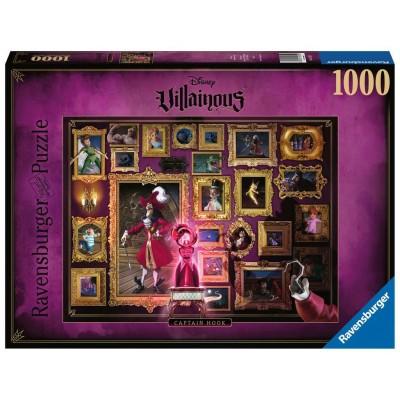 PUZZLE 1000 pzas VILLAINOUS CAPTAIN HOOK, DISNEY - Ravensburguer 15022