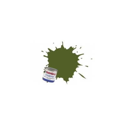 PINTURA ESMALTE VERDE BOSQUE MATE (14 ml)