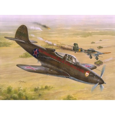 "BELL P-39 N/Q AIRCOBRA ""Soviet Guard Reg."" -Escala 1/32- Special Hobby SH32028"