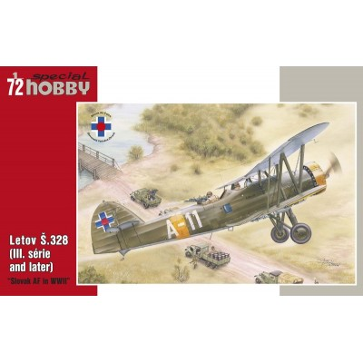 LETOV S.328 (SLOVAQUIA) -Escala 1/72- Special Hobby SH72326