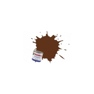 PINTURA ESMALTE MARRON ROJIZO ALEMAN MATE (14 ml) - Humbrol 160 / AA1732