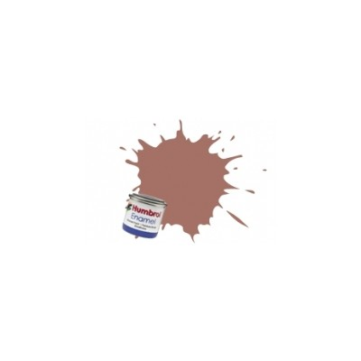 PINTURA ESMALTE MARRON ROJIZO MATE (14 ml)