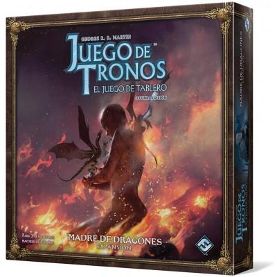 JUEGO DE TRONOS EXPANSION MADRE DE DRAGONES FANTASY FLIGHT GAMES VA103ES