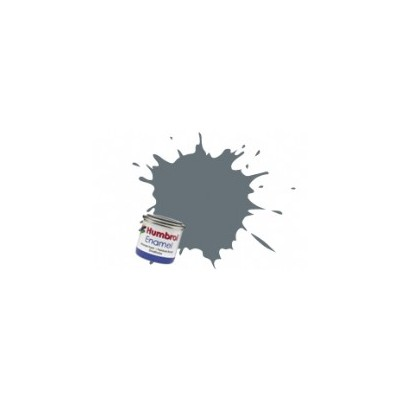 PINTURA ESMALTE GRIS ALMIRANTE OSCURO BRILLANTE (14 ml)
