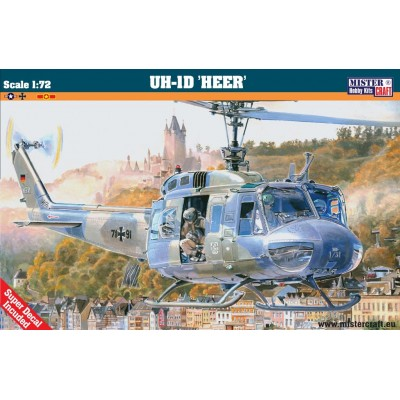 HELICOPTERO BELL UH-1D HEER- ESCALA 1/72 - MISTER CRAFT D-79