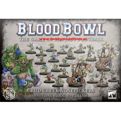 BLOOD BOWL: CRUD CREEK NOSEPICKERS TEAM GAMES WORKSHOP 202-01
