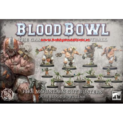 BLOOD BOWL: FIRE MOUNTAIN GUT BUSTERS GAMES WORKSHOP 202-01