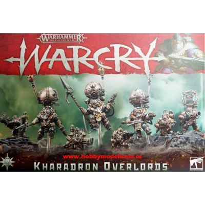 WARCRY KHARADRONS OVERLORDS - GAMES WORKSHOP 111-61