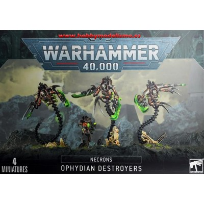 NECRONES DESTRUCTORES OFIDIANOS - GAMES WORKSHOP 49-32