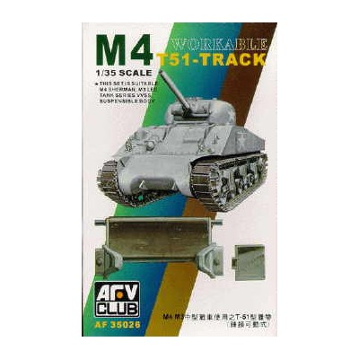 SET ORUGA SHERMAN VVSS M4/M3 T51