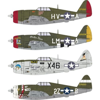 REPUBLIC P-47 D THUNDERBOLT (Razorback) -Escala 1/144- Eduard 4469