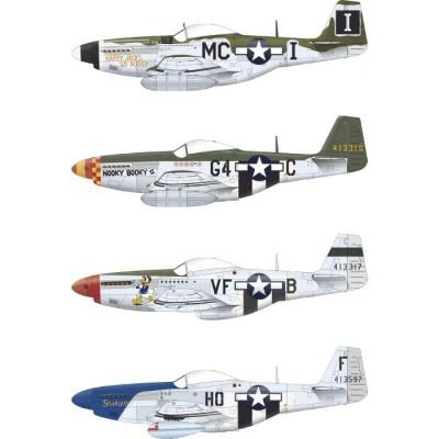 NORTH AMERICAN P-51 D-5 MUSTANG-Escala 1/48- Eduard 84172