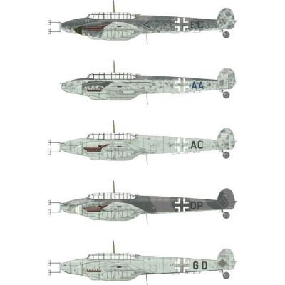 MESSERSCHMITT Bf-100 G-4 -Escala 1/48- Eduard 8208