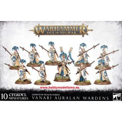 LUMINETH REALM-LORDS VANARI AURALAN WARDENS - GAMES WORKSHOP 87-59