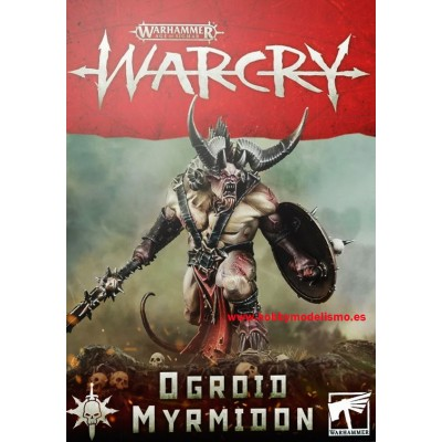 WARCRY OGROID MYRMIDON - GAMES WORKSHOP 111-25