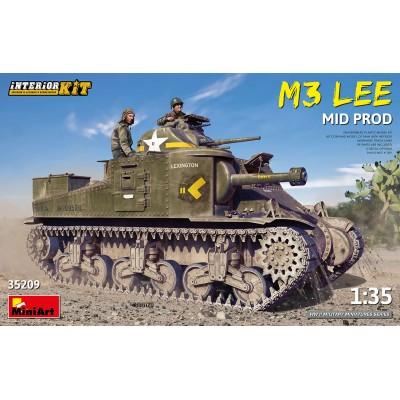 CARRO DE COMBATE M-3 LEE (MID) -Escala 1/35- MiniArt Models 35209