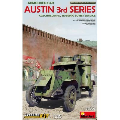 COCHE BLINDADO AUSTIN Serie 3 (Checoslovaquia, Rusia, URSS) -Escala 1/35- MiniArt Models 39007