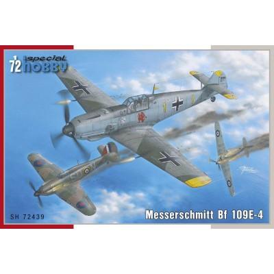 MESSERSCHMITT Bf-109 E4 -Escala 1/72- Special Hobby SH72439