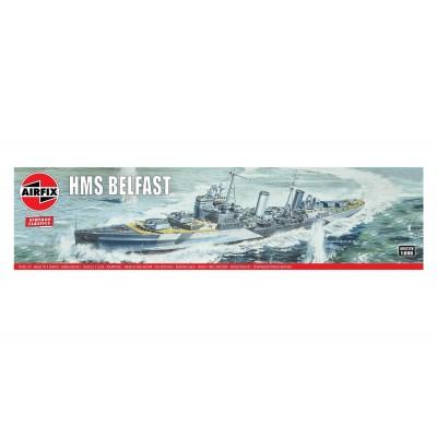 CRUCERO H.M.S. BELFAST escala 1/600 AIRFIX A04212V - VINTAGE SERIES