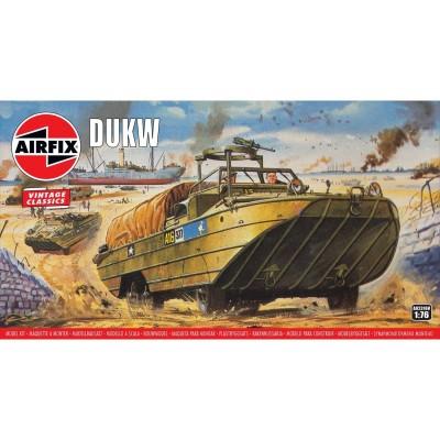 CAMION ANFIBIO DUKW Vintage Classics -Escala 1/76- Airfix A02316V