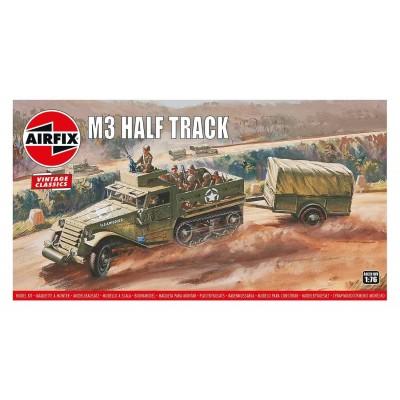 TRANSPORTE DE TROPAS M-3 HALF TRACK Vintage Classics -Escala 1/76- Airfix A02318V