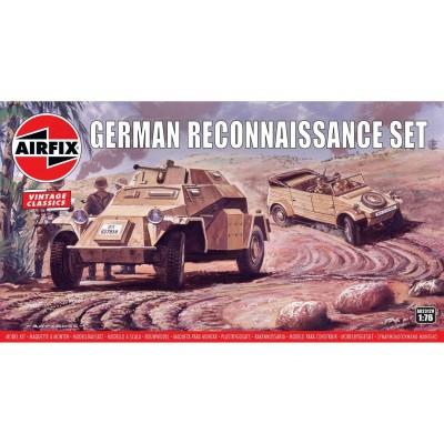 SET RECONOCIMIENTO ALEMAN Vintage Classics -Escala 1/76- Airfix A02312V