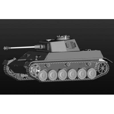 CARRO DE COMBATE Panzer Kpfw. III/IV Einheitsfahrgestell -Escala 1/35- Hobby Boss 80150