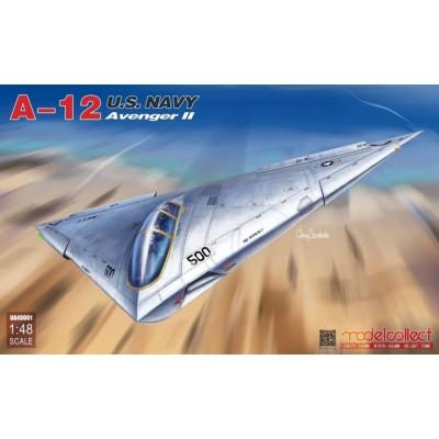 McDONNELL DOUGLAS A-12 AVENGER II -Escala 1/48- Modelcollect UA48001