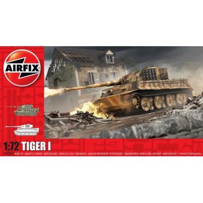 CARRO DE COMBATE Sd.Kfz. 181 Ausf. E TIGER I -Escala 1/72- Airfix A02342