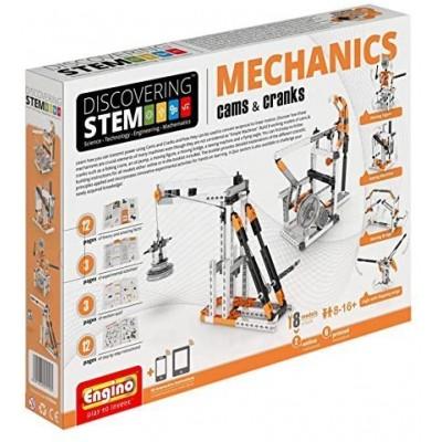MECHANICS (Cams & Cranks) - ENGINO STEM04