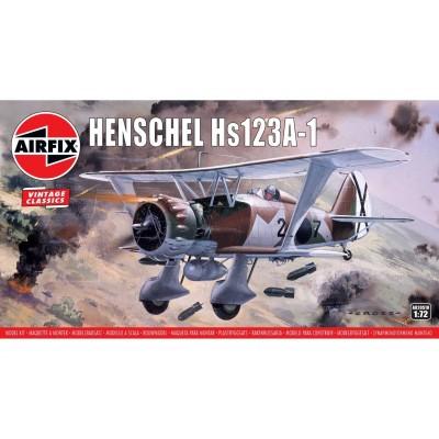 HENSCHEL HS-123 A-1 ANGELITO (España) Vintage Classics -Escala 1/72- Airfix A02051V