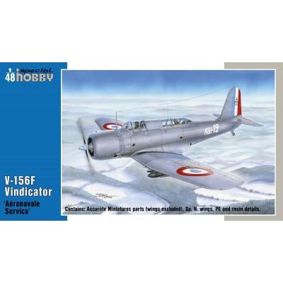 VOUGHT V-156F VINDICATOR (Aeronavale) -Escala 1/48- Special Hobby 48213