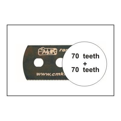 HOJA DE SIERRA SUAVE (70 dientes / 70 dientes) 1 unidad - CMK H1001