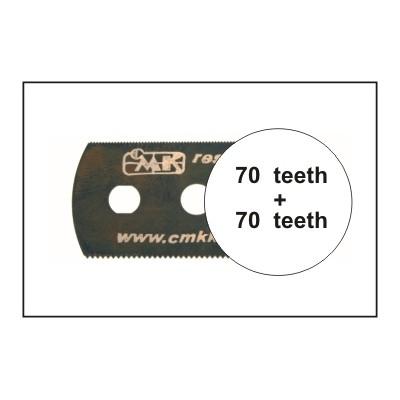 HOJA DE SIERRA SUAVE (70 dientes / 70 dientes) 5 unidades - CMK H1005