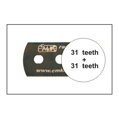 HOJA DE SIERRA SUAVE (31 dientes / 31 dientes) 1 unidad - CMK H1003